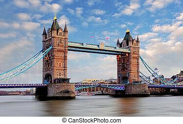 ロンドン, -, タワー橋, イギリス