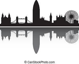 ロンドン, 鏡