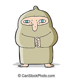 ローブ, 漫画, 修道士