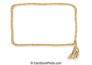ロープ, フレーム, 作られた