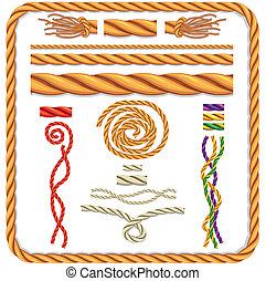 ロープ, ベクトル, twisted