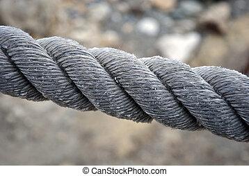 ロープ, 単一 ライン