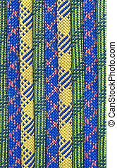 ロープ, 線, 有色人種
