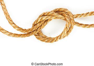 ロープ, 麻
