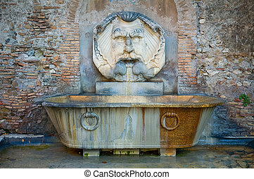 ローマ人, 噴水