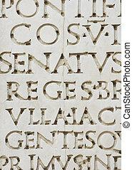 ローマ人, 手紙