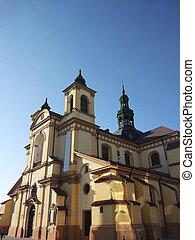 ローマ人, 新しい, ivano-frankivsk, 大聖堂, mary, 教会, カトリック教