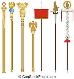 ローマ人, 象徴性, 古代