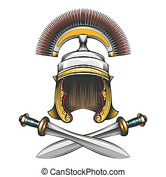ローマ帝国, ヘルメット, ∥で∥, 剣
