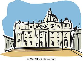 ローマ, ピーター, (st., basilica)