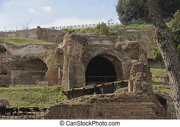 ローマ, フォーラム, vestiges