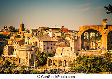 ローマ, 台なし, フォーラム