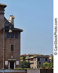 ローマ, 建物, イタリア, 中心