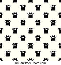 ワイシャツ, パターン, seamless, ベクトル, t, 子供