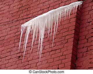 ワイヤー, 凍らされる