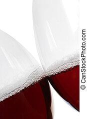 ワイン, 接吻