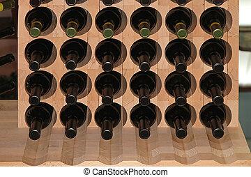ワイン, 棚