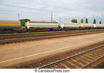 ワゴン, 列車, 貨物