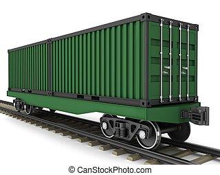 ワゴン, 鉄道