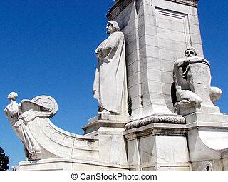 ワシントン, コロンブス, 記念, 中央である, 部分, 2013