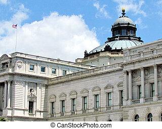 ワシントン, 国会図書館, 中央である, 部分, 2013