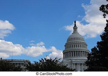 ワシントン, 国会議事堂, DC