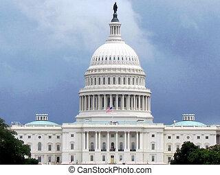 ワシントン, 白, 国会議事堂, 2013