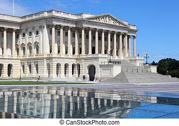 ワシントン, -, 議会