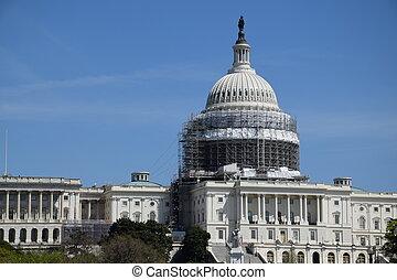 ワシントン, DC, 私達, 国会議事堂