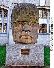 ワシントン, olmec, 彫刻, 2010