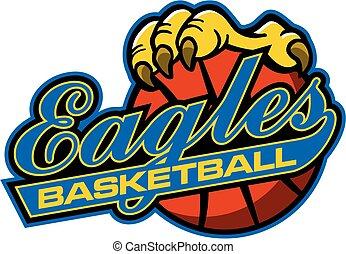 ワシ, バスケットボール