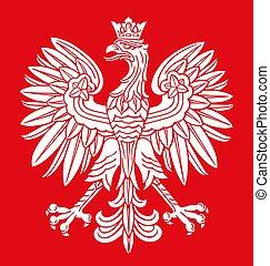 ワシ, ポーランド, 色, 国民