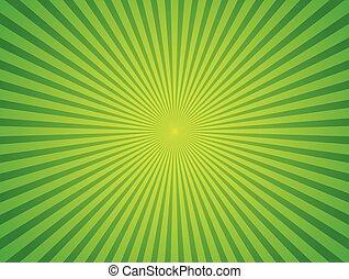 一点に集まる, starburst, 光線, illustration., ライン, 放射, バックグラウンド。, ...