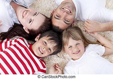 一緒の 頭部, 家族, 床