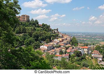 一般, 看法, ......的, the, 中世紀, 意大利語, 城市