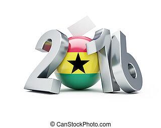 一般, 選舉, 在, 加納