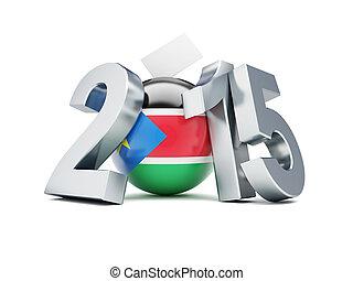 一般, 選舉, 在, 南方, 蘇丹, 2015