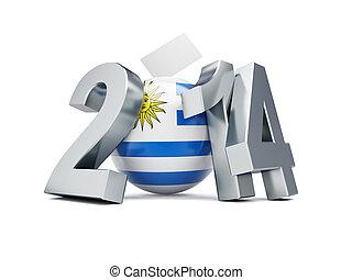 一般, 選舉, 在, 烏拉圭