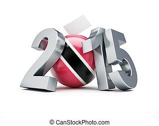一般, 選舉, 在, 特立尼達和多巴哥, 2015