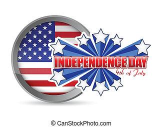 七月, 獨立日, 第四, 封印