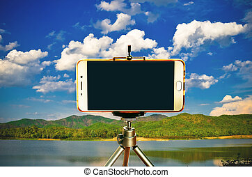 三脚, smartphone