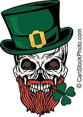 三葉草, 愛爾蘭語, 武器, 頭骨, 外套
