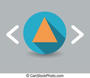 三角形, アイコン