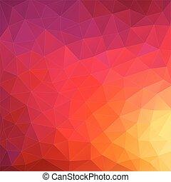三角形, カラフルである, shapes., pattern., バックグラウンド。, レトロ, 背景, 幾何学的, モザイク