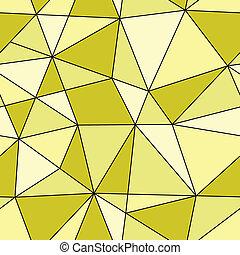 三角形, 抽象的, seamless, イラスト, 手ざわり