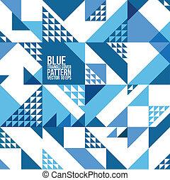 三角形, 覆蓋, 等等, 小冊子, 背景, 網站, 摘要, 海報, 幾何學, 布局, pattern., 藍色, 雜志