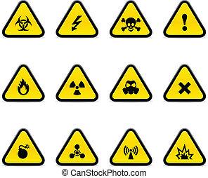 三角形, 警告