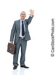 上げられた, 彼の, ブリーフケース, ビジネス, 制限された, 弁護士, スーツ