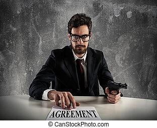 上司, 力, あなた, へ, 印, ∥, 合意
