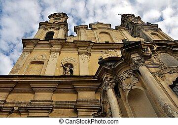 上昇, vilnius, 教会
